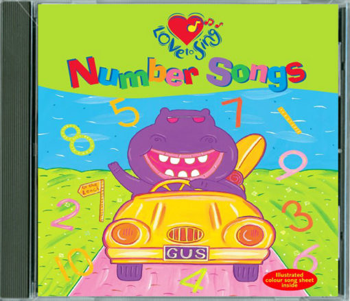 123 Number Songs CD