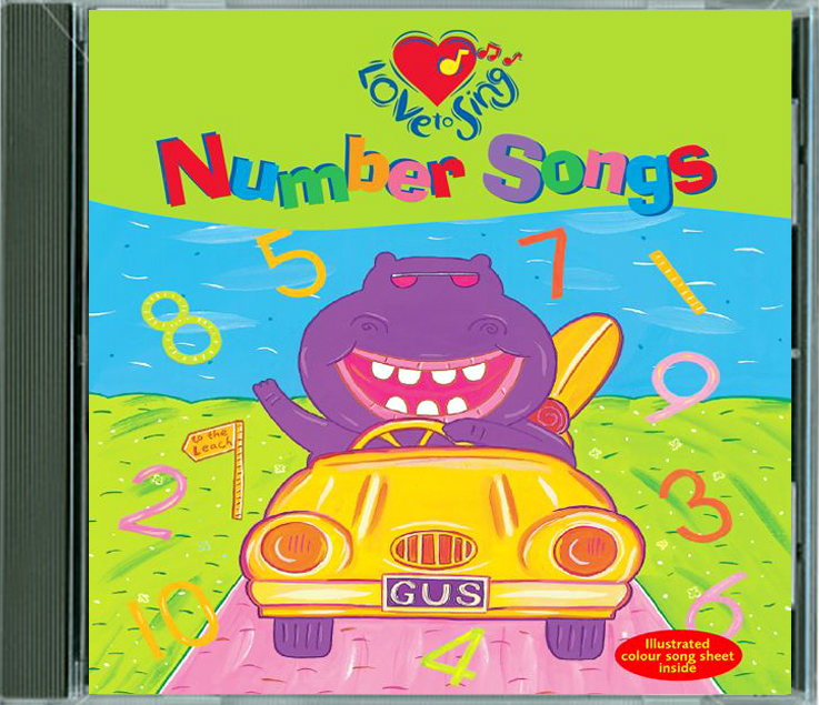 Number Songs For Kids Cd