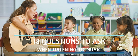 18 QUESTION LISTENING TO MUSIC