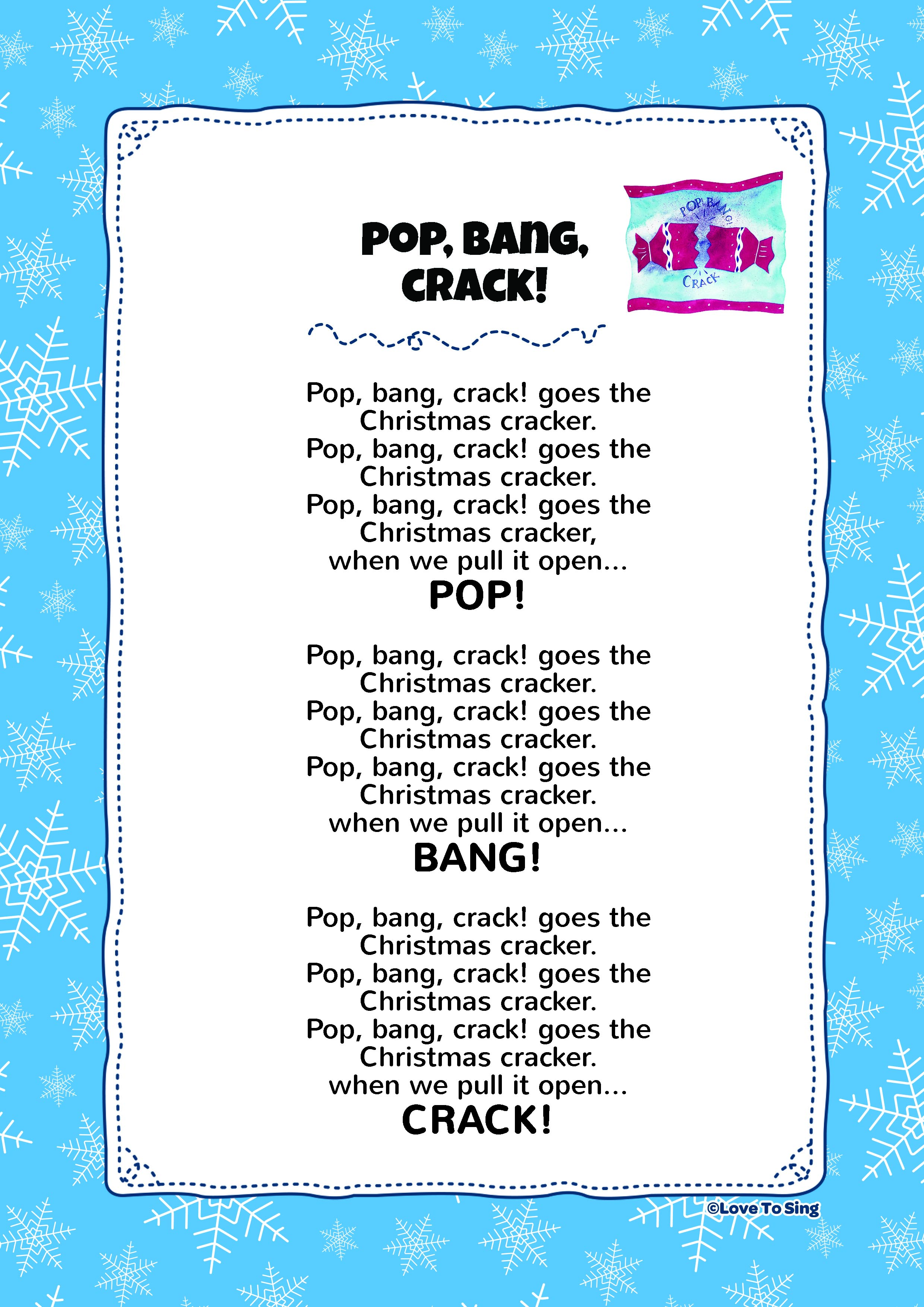 Pop Bang Crack | Kids Video Song with FREE Lyrics & Activities!