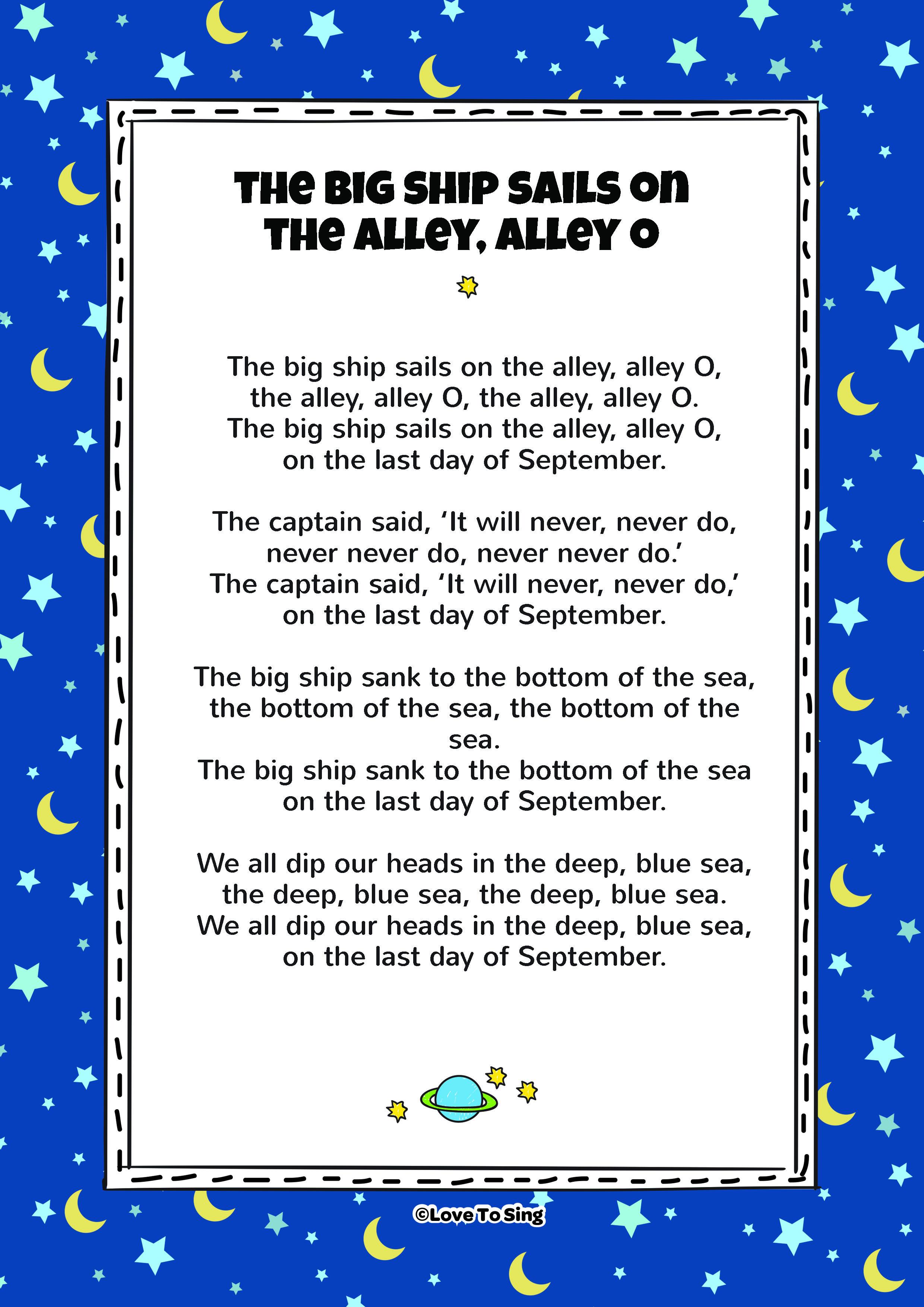 Big Ship Lyrics