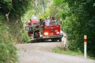 Firemen On Their Way