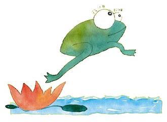 The Little Green Frog Galump