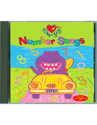Number Songs CD