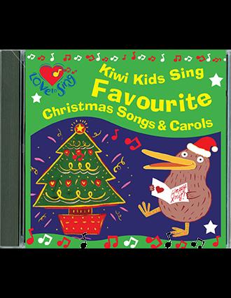 Kiwi Kids Sing Favourite Christmas Songs & Carols Double CD