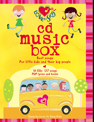 10 CD Music Box
