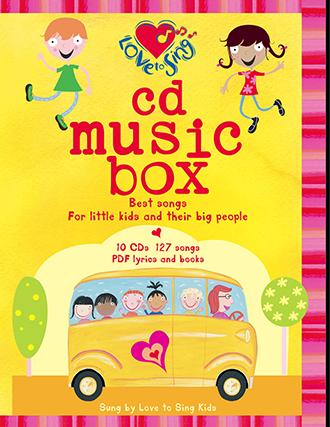 10 CD Music Box