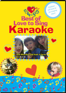 Best of Love to Sing Karaoke DVD