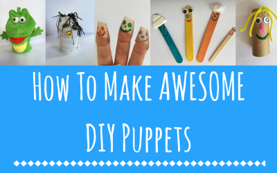 How To Make AWESOMEDIY Puppets