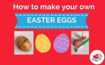 How to make your own EATSER EGGS