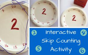 InteractiveSkip Counting Activity
