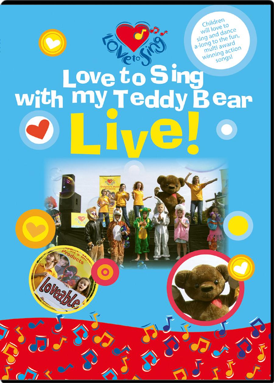 Teddy Bear Live DVD