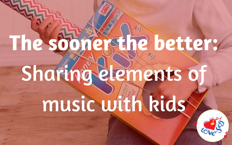 The Sooner the Better – Sharing Elements of Music