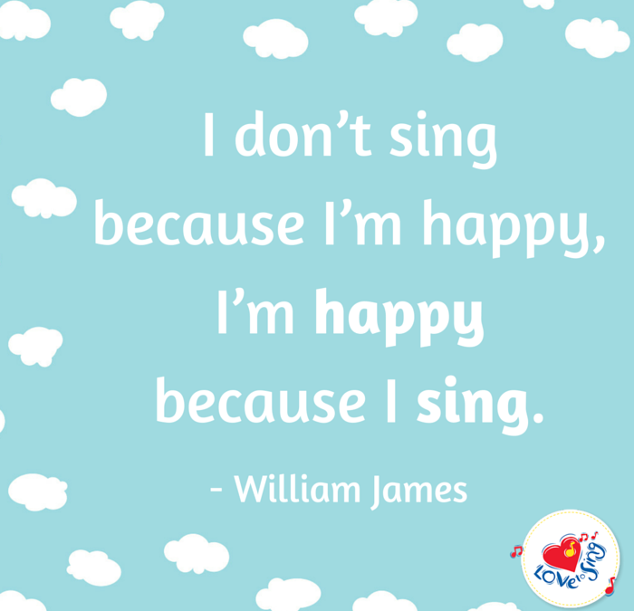 I'm Happy Because I Sing