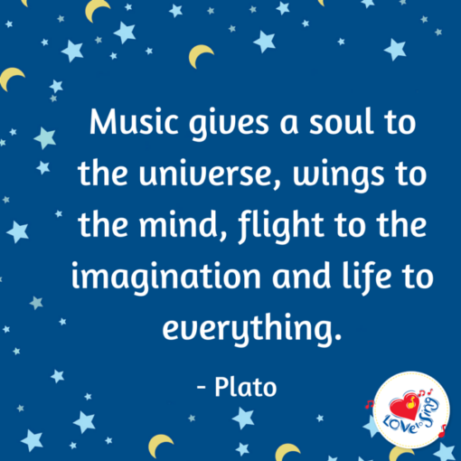 music gives the universe soul