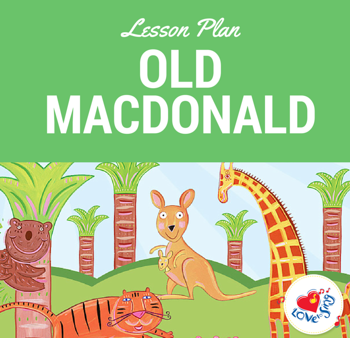 Old MacDonald Lesson Plan