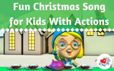 Fun Chirstmas Song for Kids with Actions