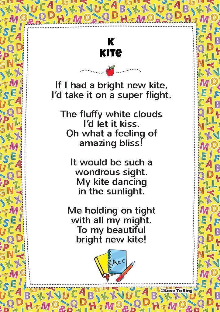 Lyric beautiful in white lyrics download : K Kite Phonics Song   FREE Video Song, Lyrics & Activities