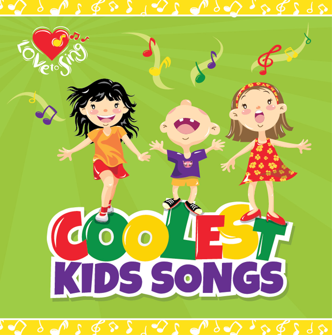 Coolest Kids Songs CD
