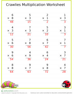 multiplication_games_multiplication_crawlies_answers
